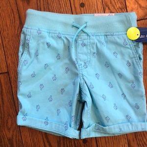 NWT boys shorts with drawstring waistband Size 6/7